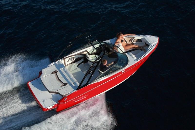 Monterey 218 Super Sport, muy rápido y llamativo
