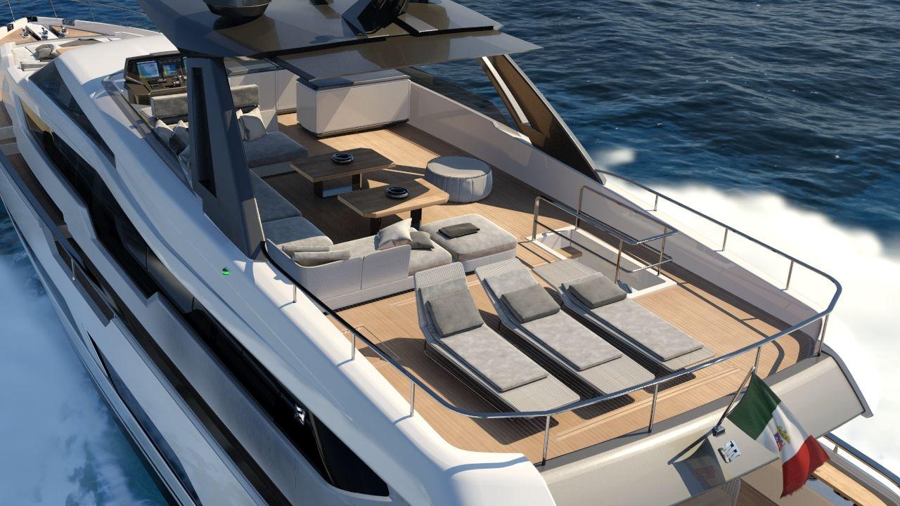 El nuevo Ferretti Yachts 850, más lujoso que nunca
