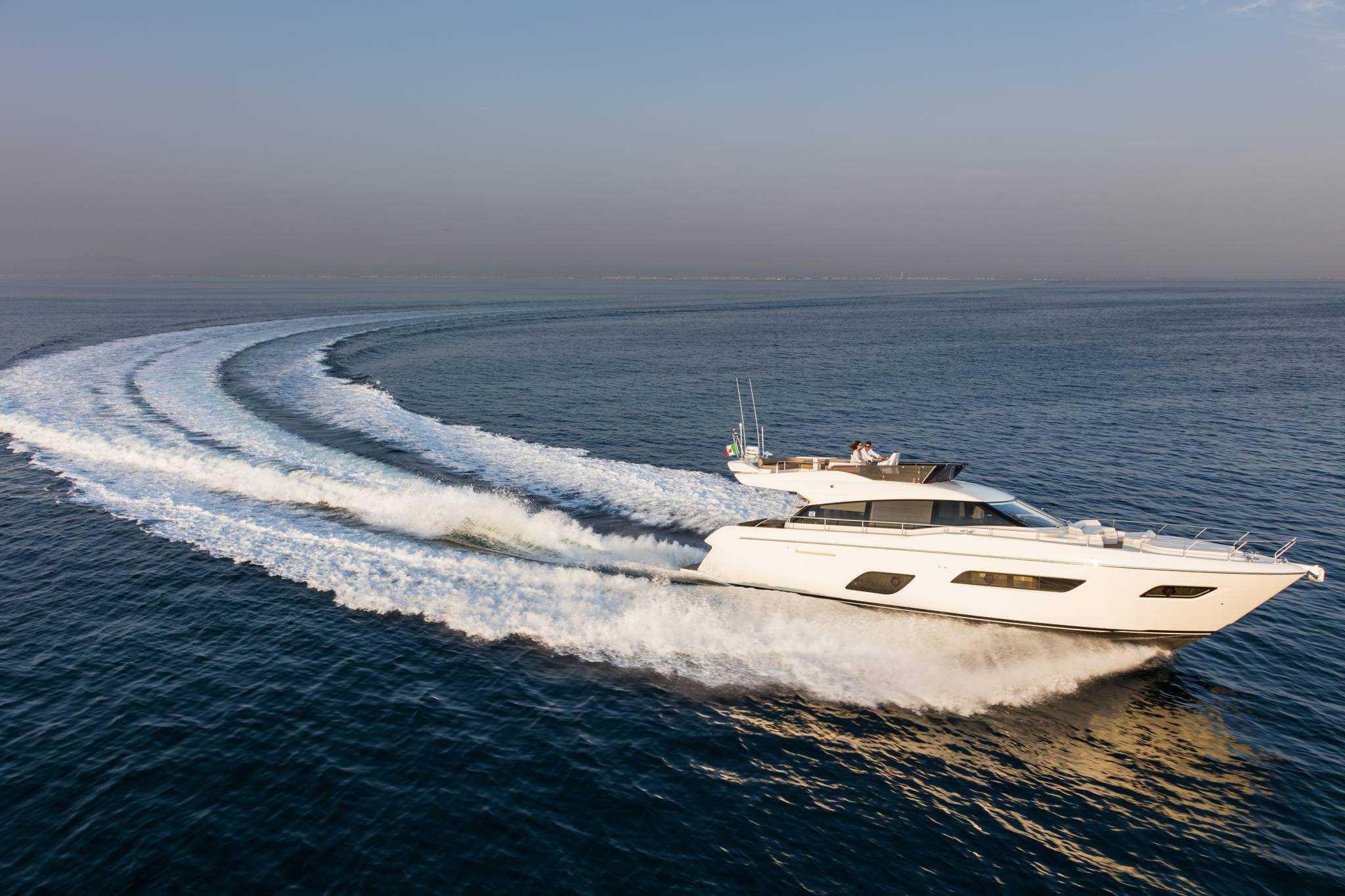 Nuevo Ferretti 550, para disfrutar del mar más allá de su imaginación