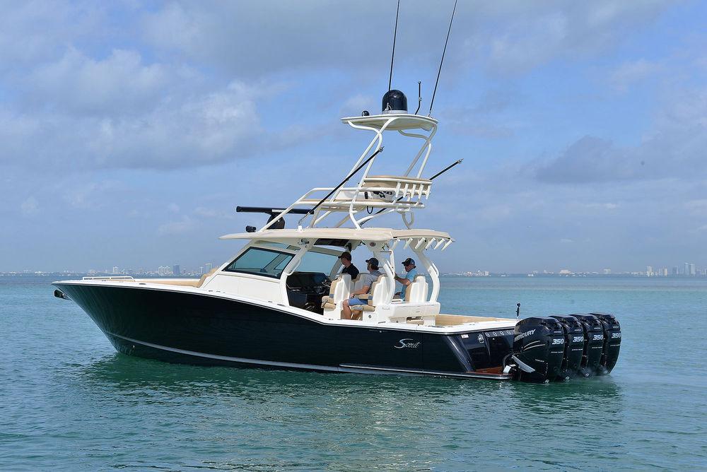 420 LXF, el favorito de los fanáticos de Scout Boats