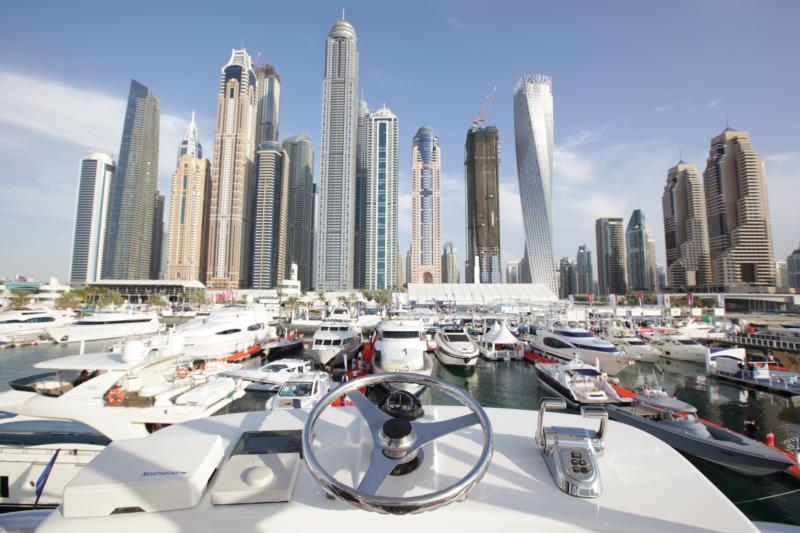 Ferretti Group en el Dubai International Boat Show 2016