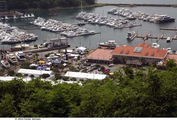 Panamá International Boat Show 2015 en la Marina Flamenco