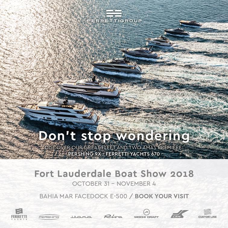 La magia inicia con el Fort Lauderdale International Boat Show 2018