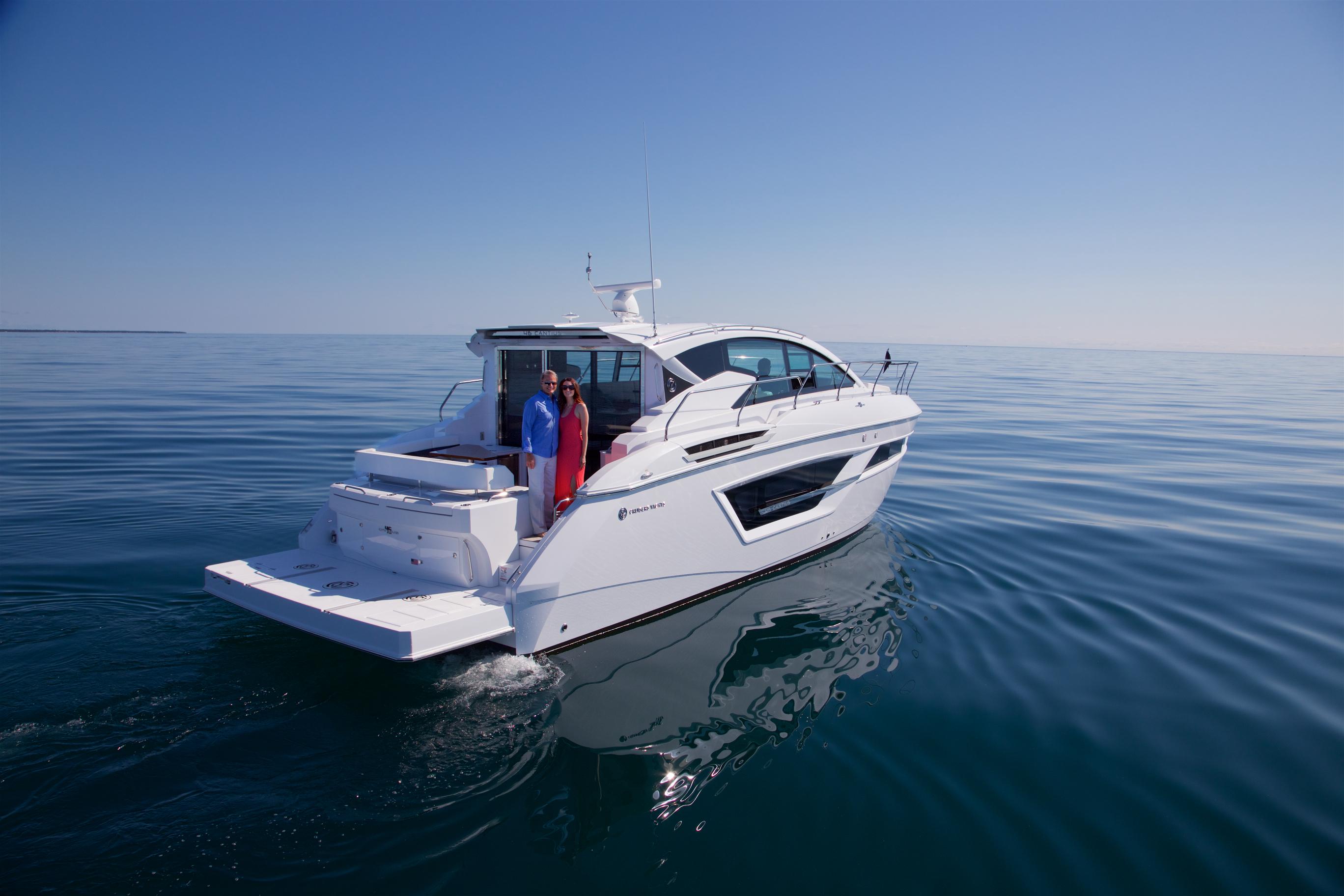 El 46 Cantius hará su debut mundial en el Fort Lauderdale International Boat Show