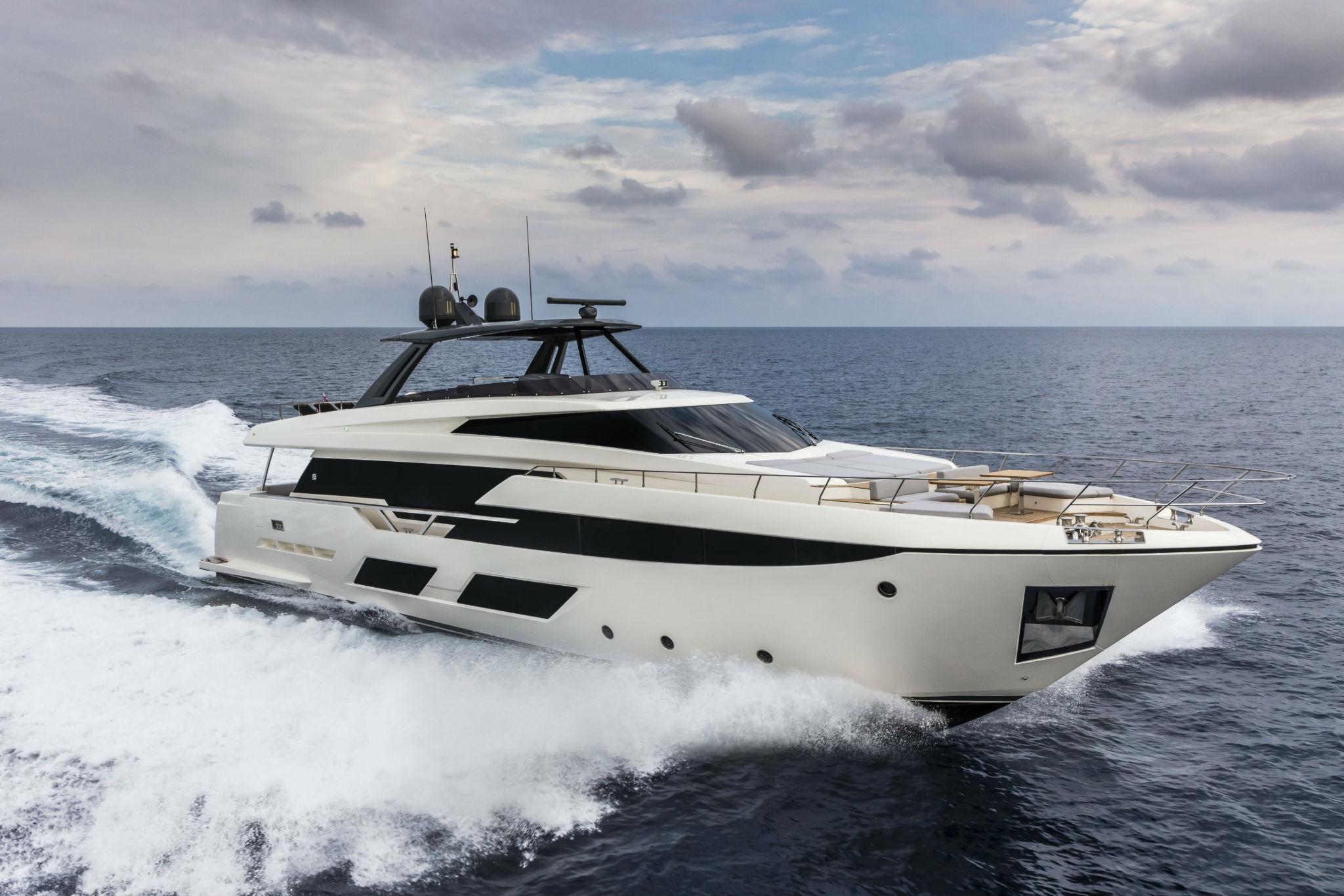 Ferretti Yachts 920, un gigante náutico de gran impacto