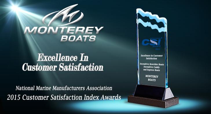 Monterey Boats galardonado con el Marine Industry CSI Award