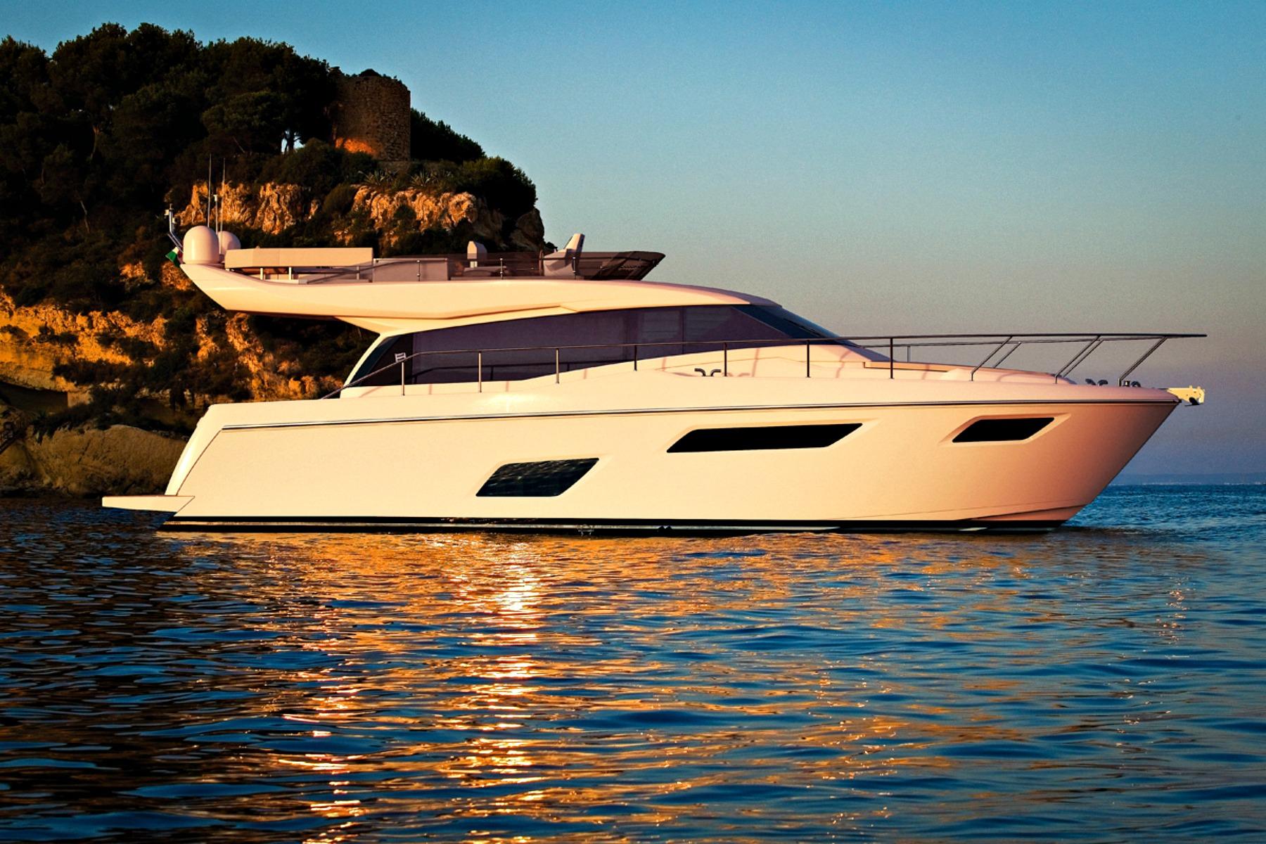 La indetenible Ferretti Yachts nos muestra su modelo 450